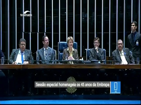 Sessão especial - TV Senado ao vivo - Plenário - 24/05/2018