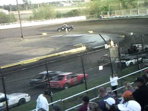 april 18th, 2011 in my mini stock at Creek County Speedway