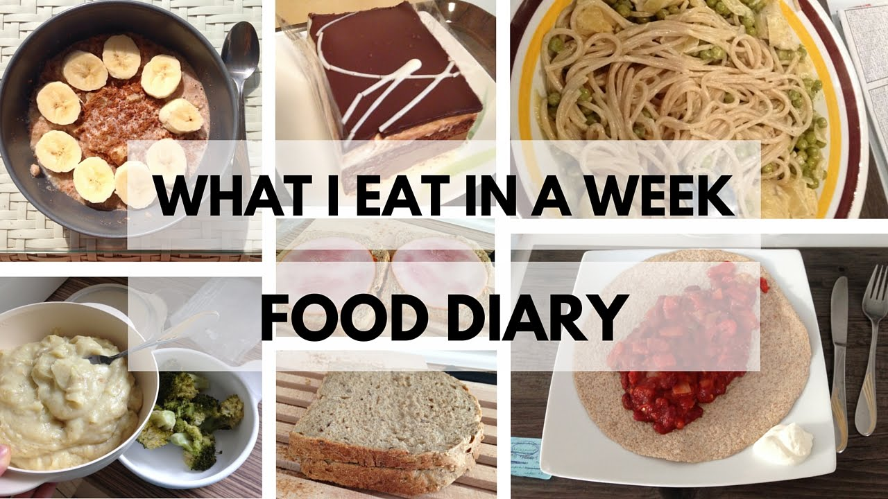 What I Eat In A Week Anorexia Recovery Youtube