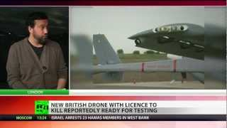 Robot Wars? UK to test supersonic stealth drone