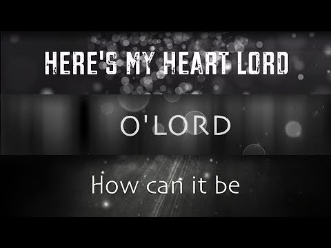 Lauren Daigle - Here's My Heart Lord, O' Lord, & Trust In You (🎶 3 Song Mix!)