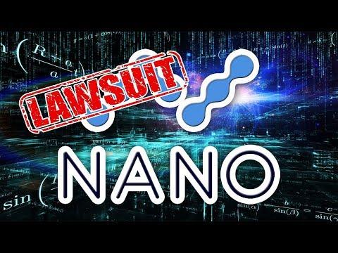 Nano (XRB) Civil Lawsuit & Institutional Investors Crypto News