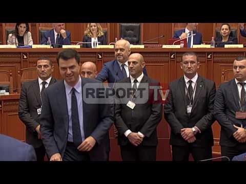 Report TV - Rama-Basha 'përplasen', futet Garda: Lëre, është çun i mirë