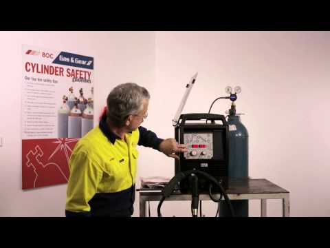 BOC - Setting up your machine for aluminium welding - YouTube