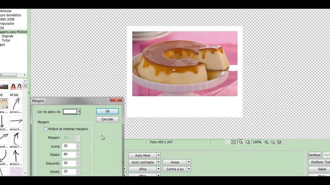 64528b07a2a30 Como fazer o Efeito Polaroid no seu PhotoScape - YouTube