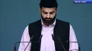 Tilawat Holy Quran with Urdu tarjma at Jalsa Salana Germany 2012 Islam Ahmadiyya