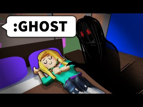 I used ROBLOX ADMIN to put ghosts in their house...