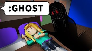 I Used Roblox Admin To Put Ghosts In Their House