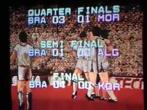 Finalizado: Tecmo World Cup 92 (mega drive)