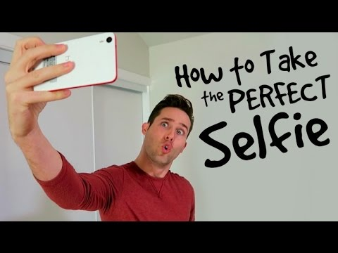 Guys How To Take A Good Selfie