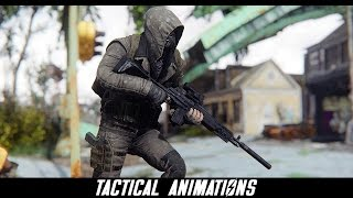 Fallout 4 Mods Tactical Animations