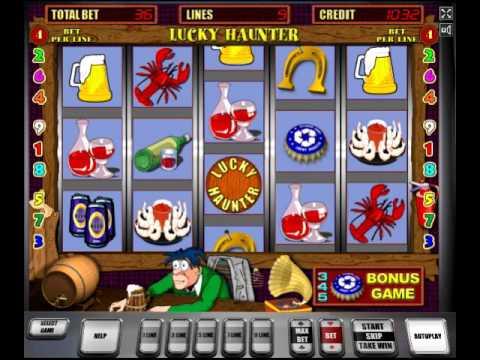 Игровой процесс онлайн автомат Lucky Haunter Крышки