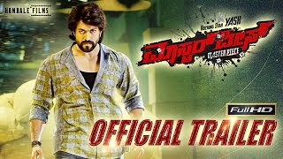 Masterpiece - Kannada Trailer | Rocking Star Yash | Hombale Films | V Harikrishna I Manju Mandavya