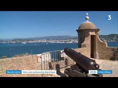 Cannes : les îles de Lérins bientôt autonomes en électricité - - France 3 Provence-Alpes-Côte d'Azur