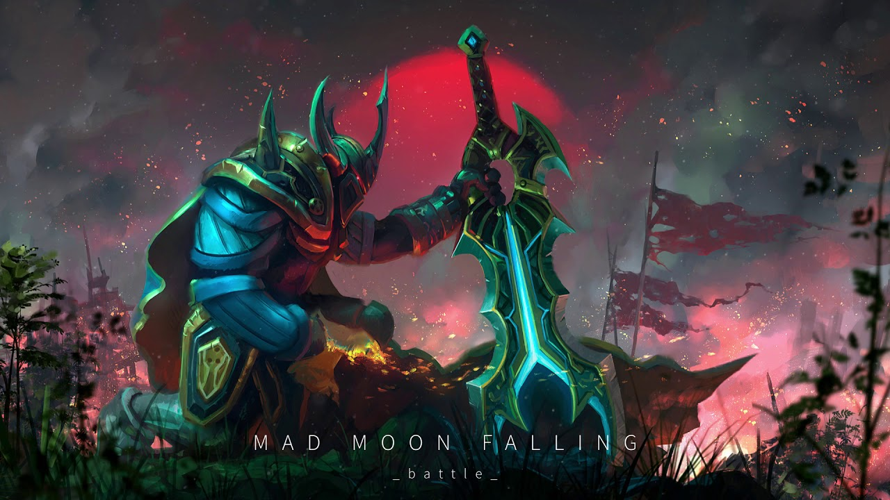 Thefatrat Mad Moon Falling Dota 2 Music Pack Youtube