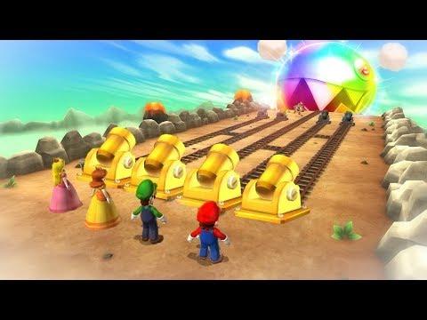 Mario Party 9 Boss Rush - Mario Vs Luigi Vs Waluigi Vs Koopa (Master Cpu)