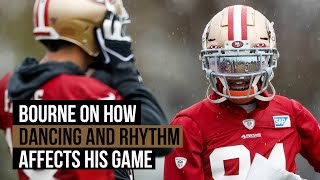 49ers-bourne-dancing-rhythm-affects-play-field