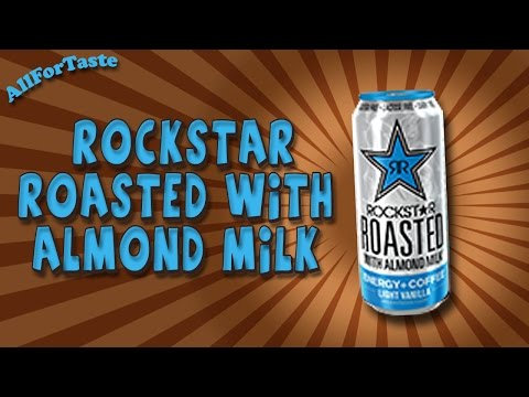 Energy Drink Project - Rockstar Roasted with Almond Milk