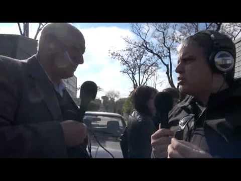 Feria de La Teja, el lugar del asesinato del trabajador,  parte 1