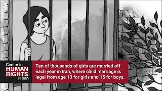 The Life of an Iranian Child Bride