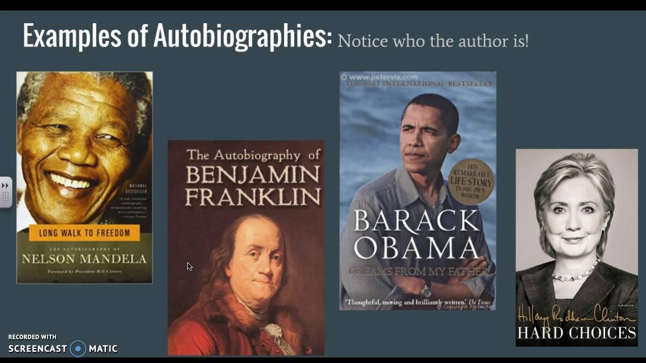 Autobiography for men