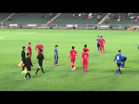 Red Cards and Fight ! The 41st Guangdong - Hong Kong Cup - Hong Kong 4:0 Guangdong (Agg. 5:2) 4154