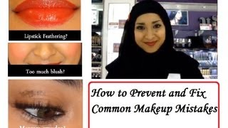 How to Prevent and Fix Common Makeup Mistakes Thumbnail