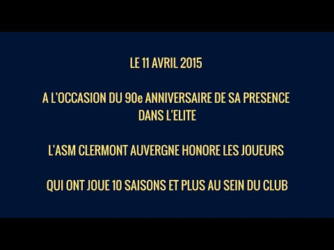 ASM : 90 ans parmi l'Elite from YouTube · Duration:  3 minutes 33 seconds