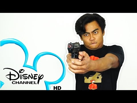DISNEY CHANNEL CHALLENGE!