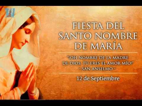 Santísimo Nombre de María (Memoria Libre)  – Lunes 12 de septiembre de 2016