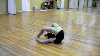 Contortion routine