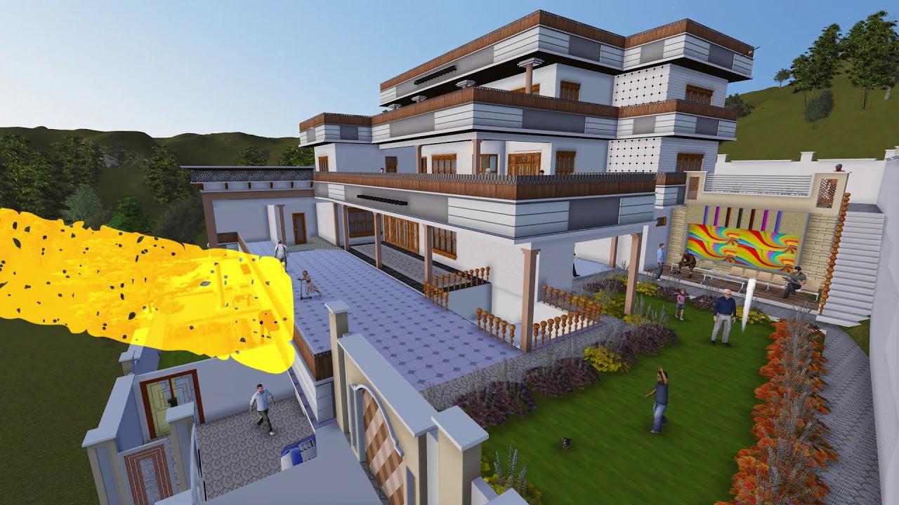 New Dream House 3D Design.