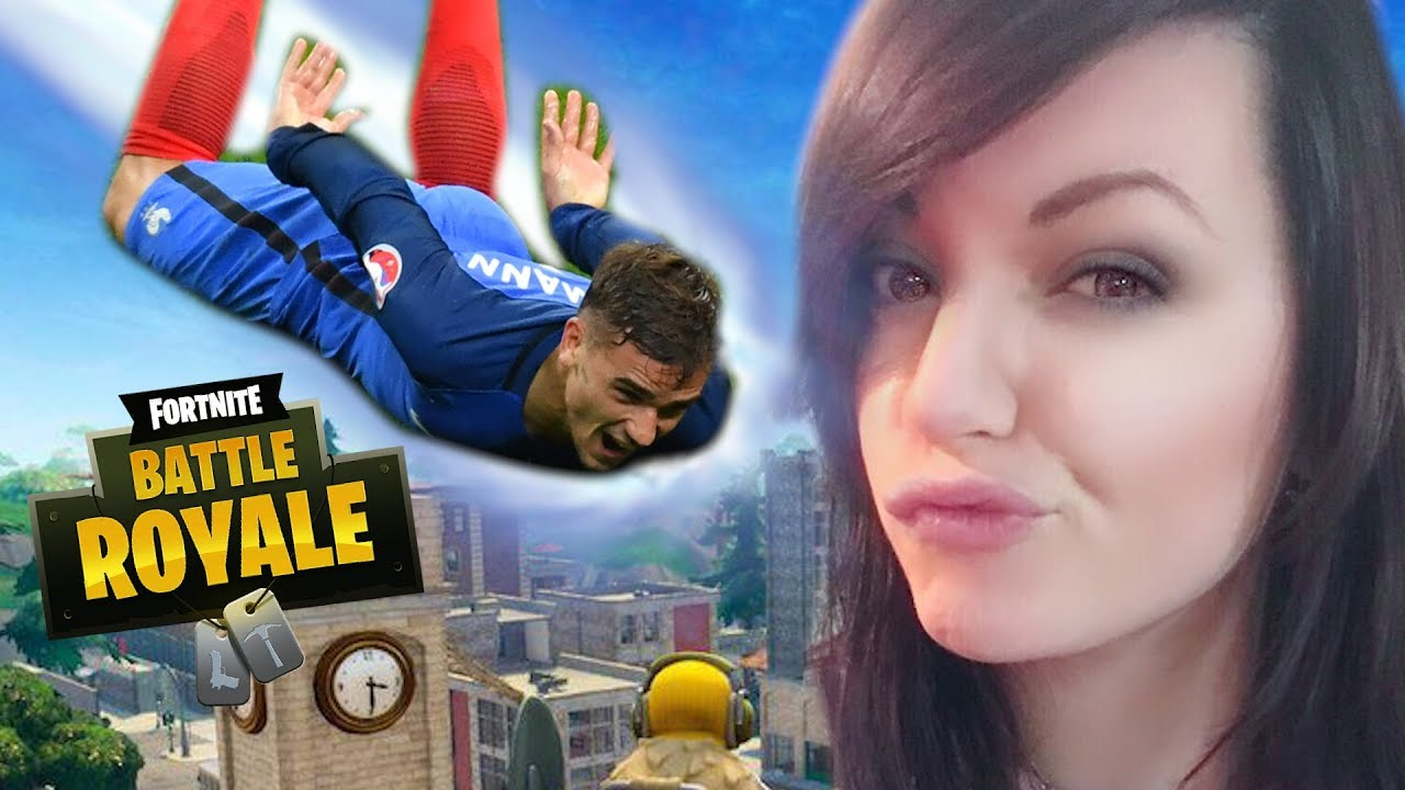 JE CARRY GRIEZMANN SUR FORTNITE AVEC LEBOUSEUH ! ⚽🥇
