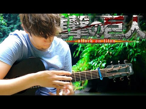Attack on Titan OP2 - Jiyuu no Tsubasa - Fingerstyle Guitar Cover