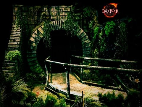 Building A Sewer Entrance For Your Haunted House Or