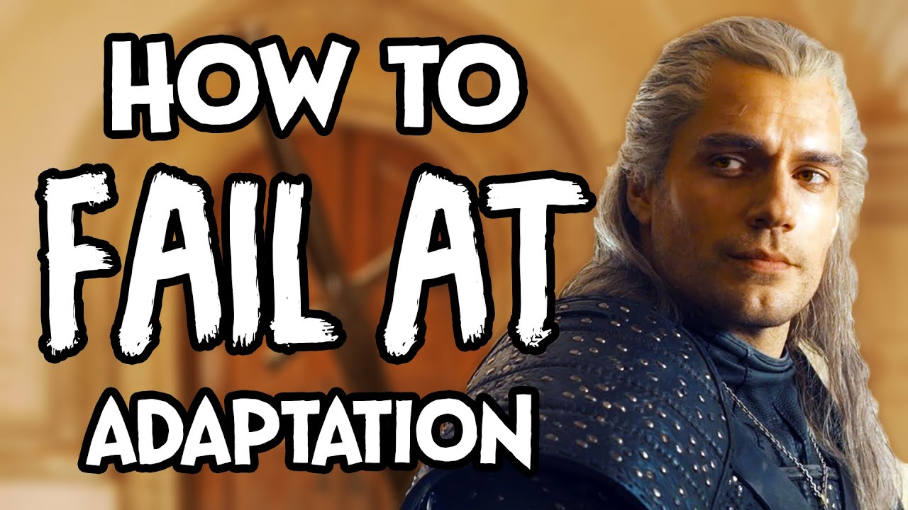 How To Fail At Adaptation - The Witcher thumbnail