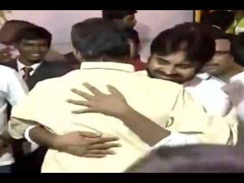 Pawan Kalyan graces Chandrababu Naidu swearing in ceremony event - CBN oath taking ceremony