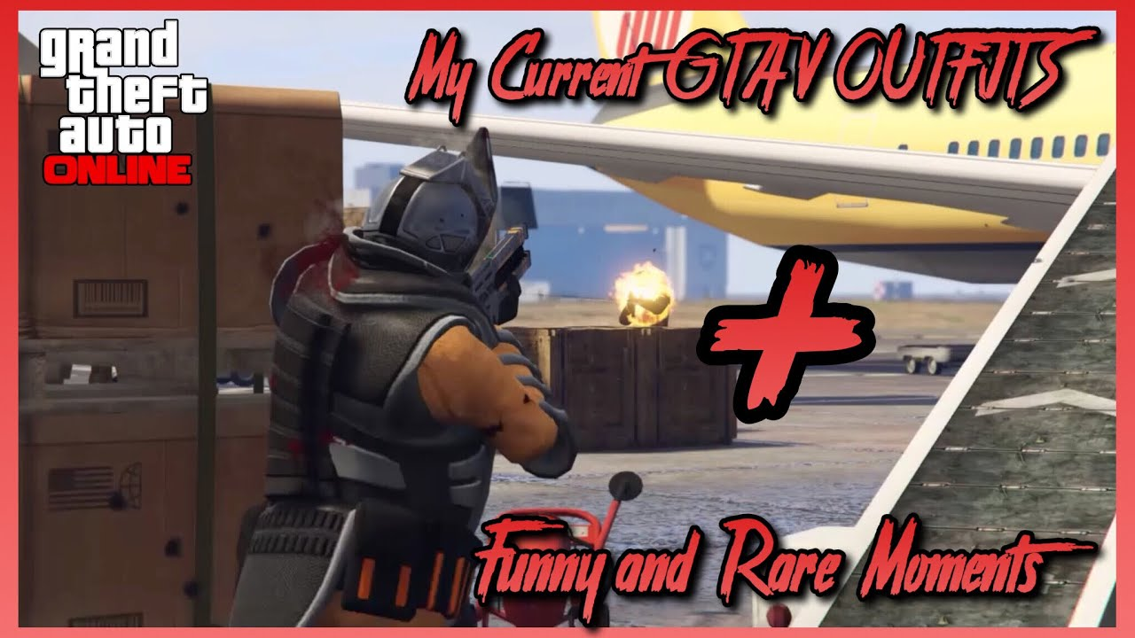 (GTA 5 Online) My Current GTA V Online Outfits + Funny And Rare Moments! - YouTube