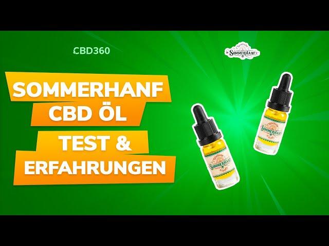 Sommerhanf CBD Öl Test & Erfahrungen | Einziges CBD Öl in Demeter Qualität! #CBD360