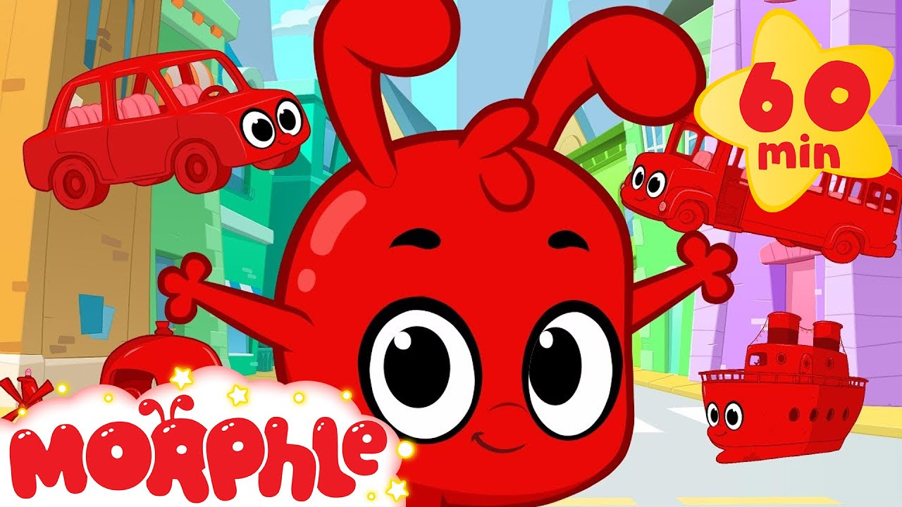 Morphle And The Vehicles 1 Hour Funny Morphle Kids