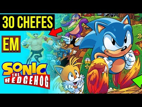 21 PERSONAGENS No SONIC VS 30 CHEFES 😱| SONIC FAN GAMES