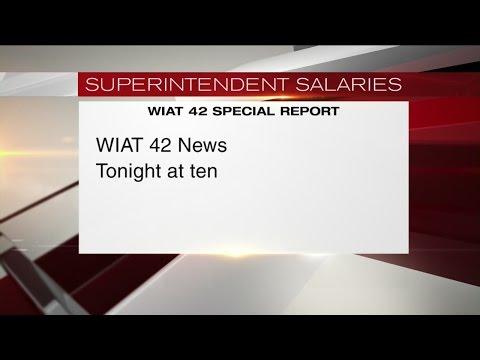 Superintendent salaries