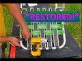 Lawn Chair: Restore New Webbing