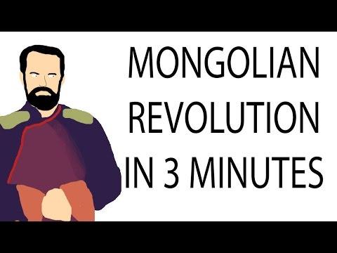 Mongolian Revolution 1911-21 | 3 Minute History