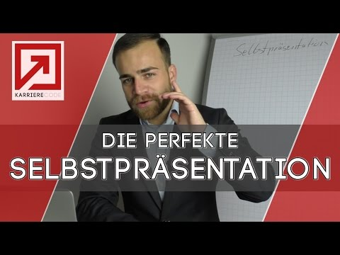 Vorstellungsgespräch - die perfekte Selbstpräsentation mit Beispiel!