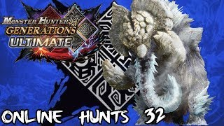 Monster Hunter Generations Ultimate - Part 32: Elderfrost Gammoth G1-G5 and EX