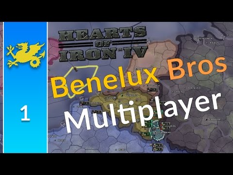 HOI4 Benelux Brothers in Arms Multiplayer w/Count Cristo [1]