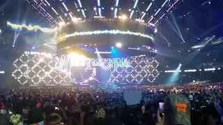 WM 34 AJ Styles Entrance