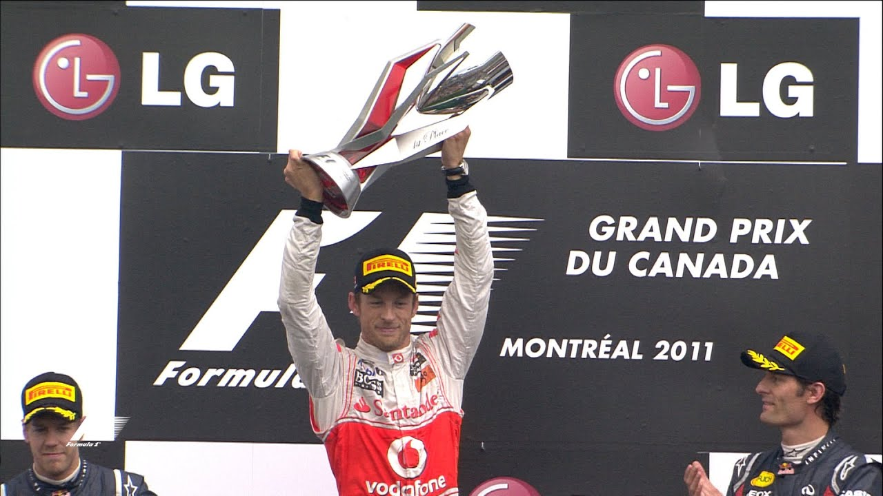 Your Favourite Canadian Grand Prix - 2011 Button's Epic Victory