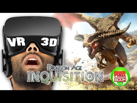 DRAGON AGE™ INQUISITION Official Trailer Gameplay – VR Google Cardboard 3D SBS 1080p